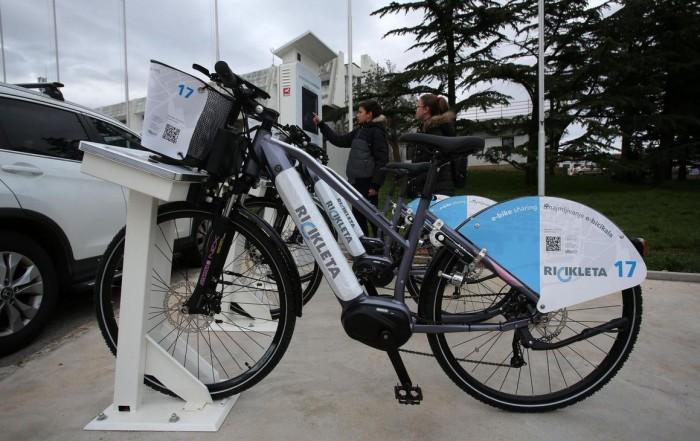 Rijeka - rent električnih bicikala
